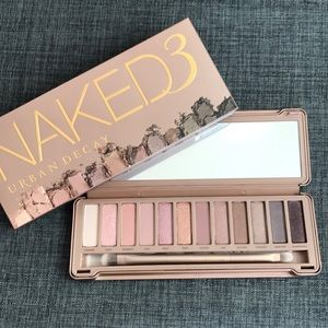 BNIB URBAN DECAY NAKED 3 PALETTE EYESHADOW PRIMER